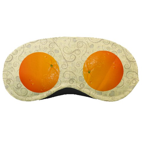 Orange  By Wood Johnson   Sleeping Mask   Iphtinkyefqa   Www Artscow Com Front