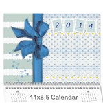 Kids calendar seasons - Wall Calendar 11  x 8.5  (12-Months)