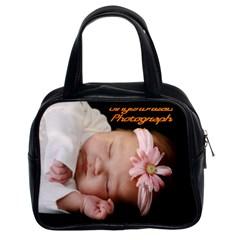 Bag By Valeriemarie   Classic Handbag (two Sides)   7fe5ktzinnb9   Www Artscow Com Front