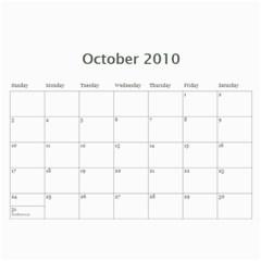 Mun s Calendar 2010 By Mai Anh   Wall Calendar 11  X 8 5  (12 Months)   Dk5zx8f2oxlu   Www Artscow Com Oct 2010