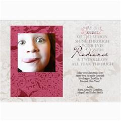 Ruby Card By Amyjo   5  X 7  Photo Cards   9gi6odk88b2a   Www Artscow Com 7 x5 Photo Card - 4