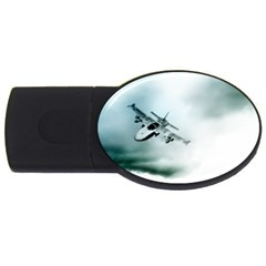 Aircraft USB Flash Drive Oval (2 GB) by Xvmon