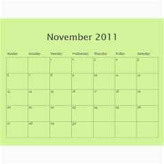 Kalendář 2011   Gašparíkovi By Petr Ga?parík   Wall Calendar 11  X 8 5  (12 Months)   Unj7wv5hfuu6   Www Artscow Com Nov 2011