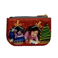 Christmas By Wood Johnson   Mini Coin Purse   Bt7t0pqdhb8k   Www Artscow Com Back