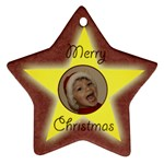 Starry Night Christmas star - Ornament (Star)