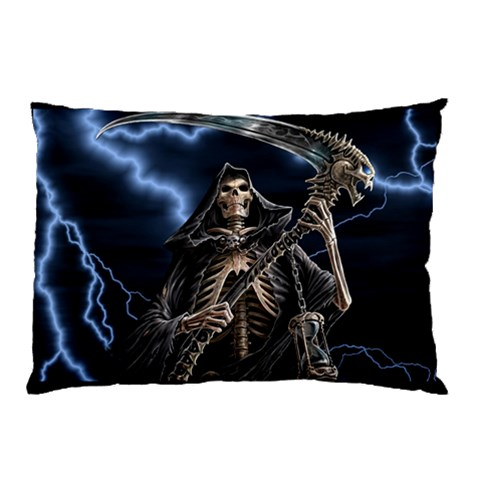 Skeleton Pillowcase By Catvinnat   Pillow Case   Ptgrq2t5nnp3   Www Artscow Com 26.62 x18.9 Pillow Case