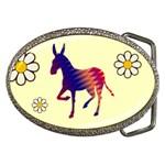 Donkey 8 Belt Buckle