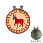 Donkey 8 Golf Ball Marker Hat Clip