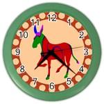Donkey 8 Color Wall Clock