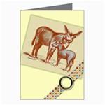 Donkey 9 Greeting Cards (Pkg of 8)