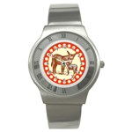Donkey 9 Stainless Steel Watch