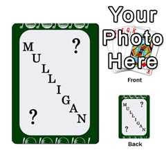 Card Golf2 By Ashley   Multi Purpose Cards (rectangle)   Qftpmcn3uqzg   Www Artscow Com Front 4