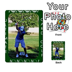 Card Golf2 By Ashley   Multi Purpose Cards (rectangle)   Qftpmcn3uqzg   Www Artscow Com Back 45