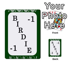Card Golf2 By Ashley   Multi Purpose Cards (rectangle)   Qftpmcn3uqzg   Www Artscow Com Front 49