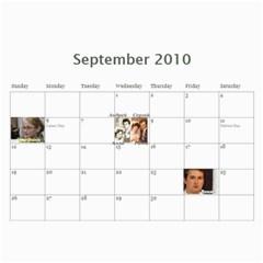 Calendar By Julia   Wall Calendar 11  X 8 5  (12 Months)   2toiw20jaspd   Www Artscow Com Sep 2010