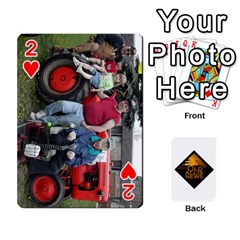 B Tractor Cards By Diana   Playing Cards 54 Designs   Zjrv7udrwwgm   Www Artscow Com Front - Heart2
