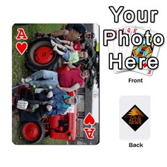 Ace B Tractor Cards By Diana   Playing Cards 54 Designs   Zjrv7udrwwgm   Www Artscow Com Front - HeartA