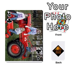 B Tractor Cards By Diana   Playing Cards 54 Designs   Zjrv7udrwwgm   Www Artscow Com Front - Club4