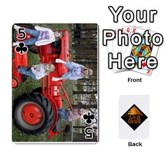 B Tractor Cards By Diana   Playing Cards 54 Designs   Zjrv7udrwwgm   Www Artscow Com Front - Club5