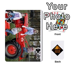 B Tractor Cards By Diana   Playing Cards 54 Designs   Zjrv7udrwwgm   Www Artscow Com Front - Club6