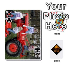 Queen B Tractor Cards By Diana   Playing Cards 54 Designs   Zjrv7udrwwgm   Www Artscow Com Front - ClubQ