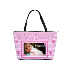 Baby Girl Diaper Bag By Laurrie   Classic Shoulder Handbag   Psynb517mhyi   Www Artscow Com Front