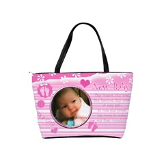 Baby Girl Diaper Bag By Laurrie   Classic Shoulder Handbag   Psynb517mhyi   Www Artscow Com Back