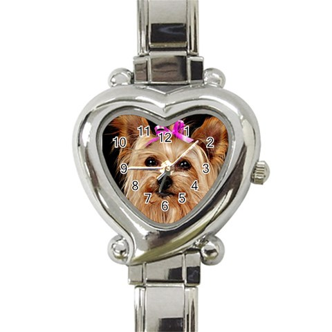 Watches By Valeriemarie   Heart Italian Charm Watch   Ep2q5vkd6ov7   Www Artscow Com Front