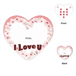 Love  - Playing Cards (Heart)
