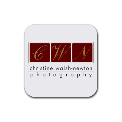 Logo Square Coaster By Christine Walsh Newton   Rubber Coaster (square)   W3x6o1lnvedy   Www Artscow Com Front