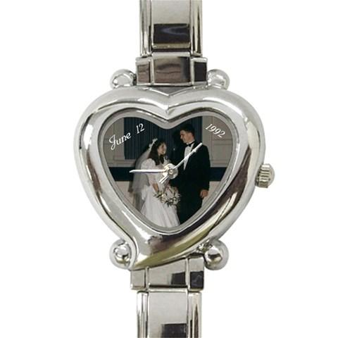 June 12, 1992  #2 By Lynne   Heart Italian Charm Watch   Yghkb32dscze   Www Artscow Com Front