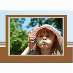 Blue Theme By Wood Johnson   5  X 7  Photo Cards   Ek8cey5m5lyu   Www Artscow Com 7 x5 Photo Card - 9