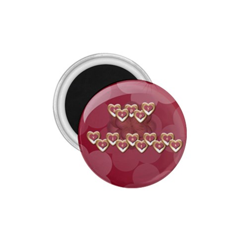 Valentines Pin By Gina   1 75  Magnet   7m9x88gwnt1n   Www Artscow Com Front