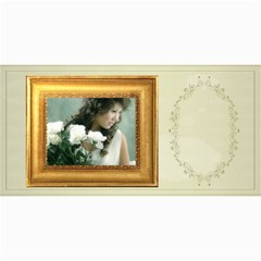 Wedding Card By Wood Johnson   4  X 8  Photo Cards   Swqdxwt7r29e   Www Artscow Com 8 x4 Photo Card - 1