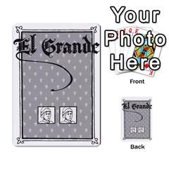 El Grande By Daniel San Miguel Cuadrado   Multi Purpose Cards (rectangle)   Scyrrz96gyyp   Www Artscow Com Back 10