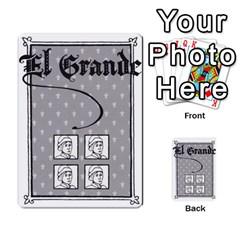 El Grande By Daniel San Miguel Cuadrado   Multi Purpose Cards (rectangle)   Scyrrz96gyyp   Www Artscow Com Back 28