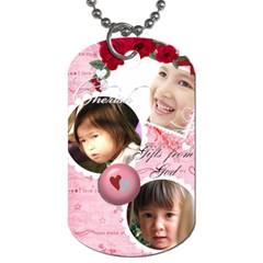 Dog Tag By Vivian   Dog Tag (two Sides)   Drsir42bbgao   Www Artscow Com Front