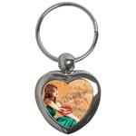 love kiss - Key Chain (Heart)