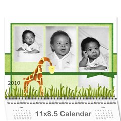 My Calendar By Tawanda   Wall Calendar 11  X 8 5  (12 Months)   28z6ldo6bbos   Www Artscow Com Cover