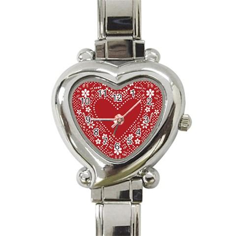 Heart Watching By Wood Johnson   Heart Italian Charm Watch   0km1lrkykq9o   Www Artscow Com Front