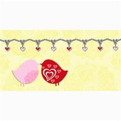 Love Birds   Copy Me! By Gina   4  X 8  Photo Cards   Srpqzeci4904   Www Artscow Com 8 x4 Photo Card - 9