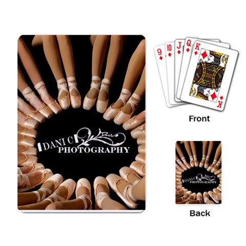 Dance Cards By Danielle Christiansen   Playing Cards Single Design   Doa0af3axzv6   Www Artscow Com Back
