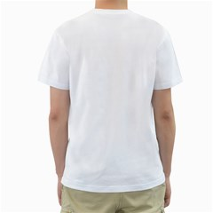 Valentine s Day For Him By Carmensita   Men s T Shirt (white) (two Sided)   Vp6aq8q1m80q   Www Artscow Com Back
