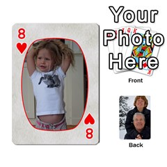 Huwelijk By Arielle   Playing Cards 54 Designs   3bei5h0hmwru   Www Artscow Com Front - Heart8