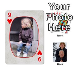 Huwelijk By Arielle   Playing Cards 54 Designs   3bei5h0hmwru   Www Artscow Com Front - Heart9