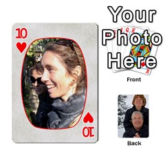Huwelijk By Arielle   Playing Cards 54 Designs   3bei5h0hmwru   Www Artscow Com Front - Heart10