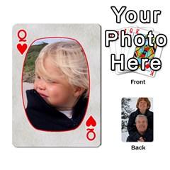 Queen Huwelijk By Arielle   Playing Cards 54 Designs   3bei5h0hmwru   Www Artscow Com Front - HeartQ