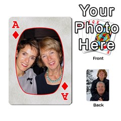 Ace Huwelijk By Arielle   Playing Cards 54 Designs   3bei5h0hmwru   Www Artscow Com Front - DiamondA