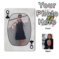 Queen Huwelijk By Arielle   Playing Cards 54 Designs   3bei5h0hmwru   Www Artscow Com Front - ClubQ