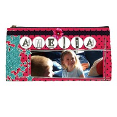 Amelia s Pencil Case By Ashaloo   Pencil Case   66840vrq2d7n   Www Artscow Com Front